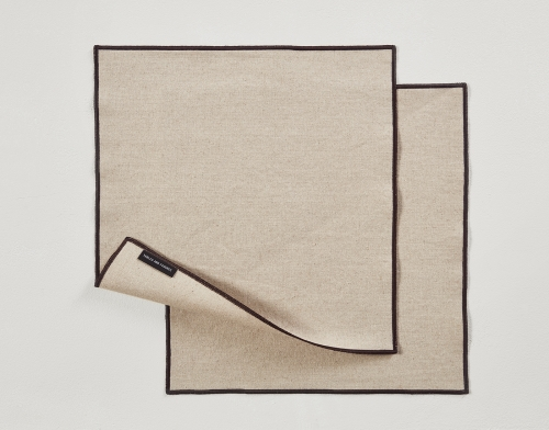 Small Placemat Set of 4 Linen Tablecloth
